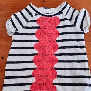 Gap striped jersey shirt
